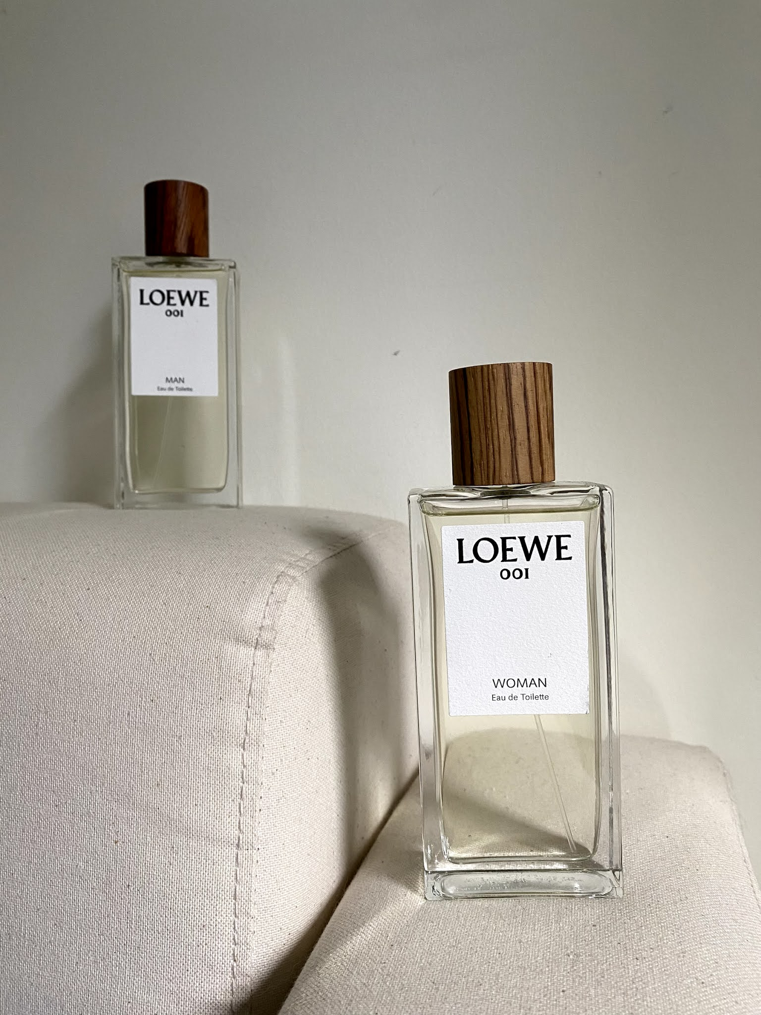 Loewe fragrance 001 woman man review