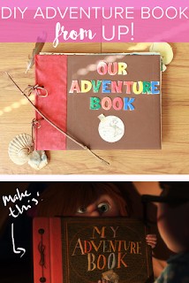 Up My (Our) Adventure Book DIY Tutorial
