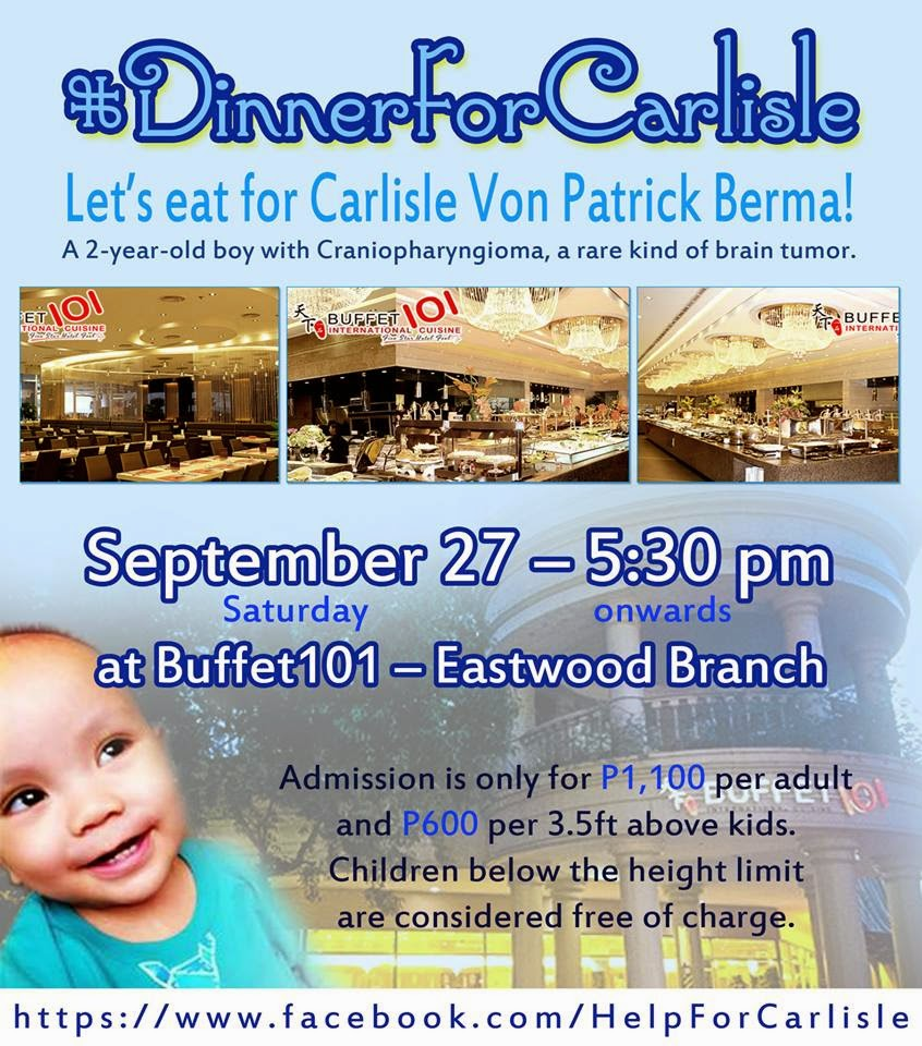 Dine for a Cause #DinnerForCarlisle