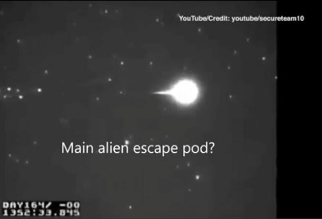 The Black Knight Satellite UFO was shot down by the Illuminati.
