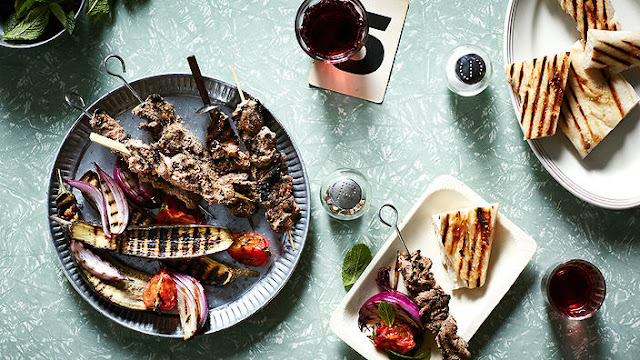 Pomegranate molasses is the sour element here Persian 'sour' goat kebabs (kebab torsh) recipe