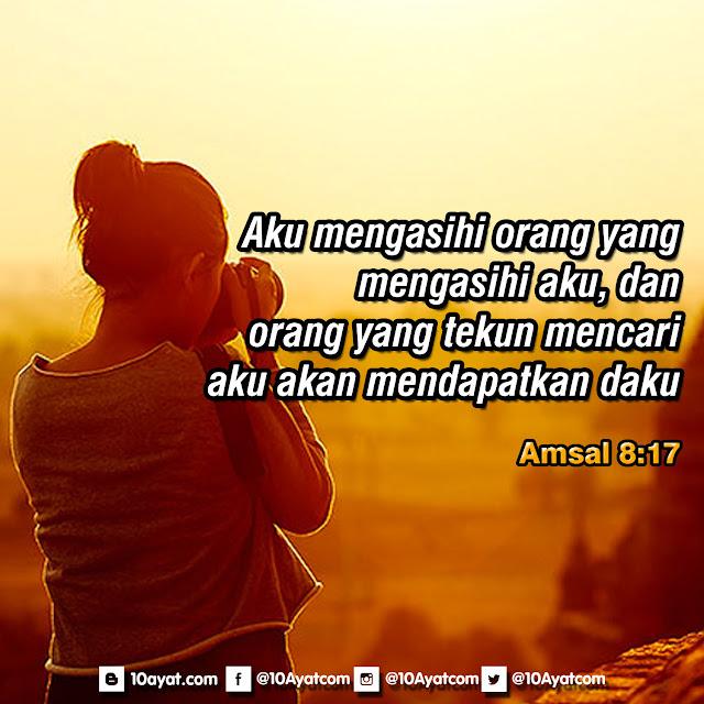 Amsal 8:17