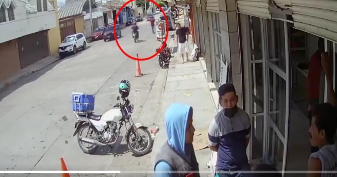 Captan en Video ejecución de empresario por Sicarios en San Luis Potosí