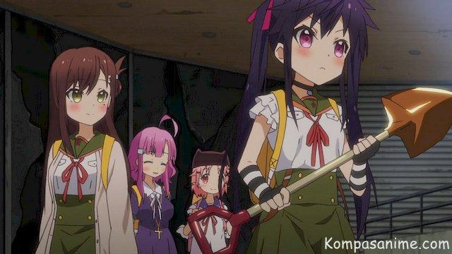 anime mirip Gakkou Gurashi, salah satu anime zombie terbaik