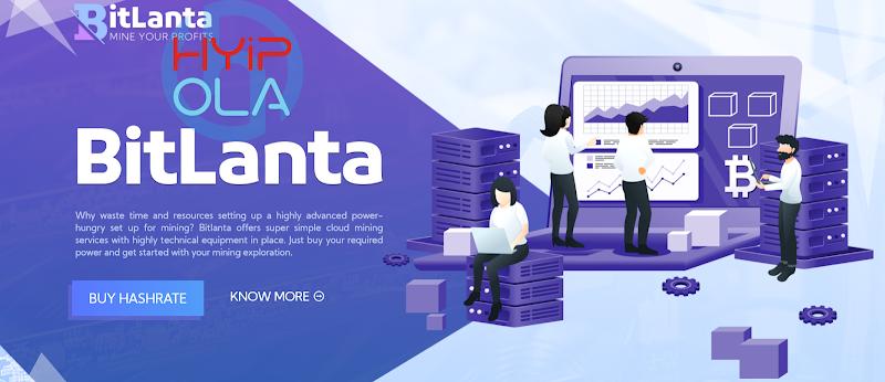 [SCAM] Review Bitlanta - Dự án chiến nhanh lãi 4% hằng ngày - Cho rút vốn sớm