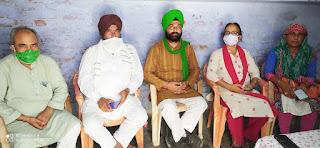 सीतापुर : आगामी चुनाव में भाजपा को सबक सिखाएगा किसान