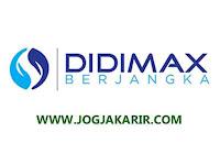 Loker Bulan Juli 2020 di Didimax Yogyakarta