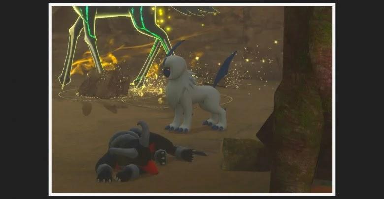 Ruins Photodex in New Pokémon Snap