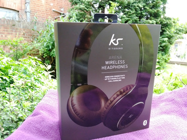 a271a93e69b If a good quality pair of headphones with very long battery and easy to use  controls is what you are after, the Arena headphones by Kitsound are right  up ...