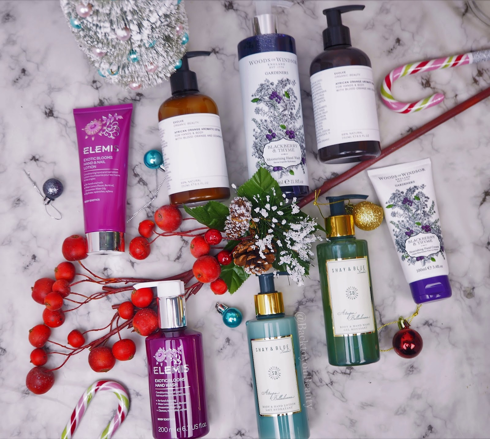 Christmas Gift Guide Luxury Handwash and Lotions for the hard to buy