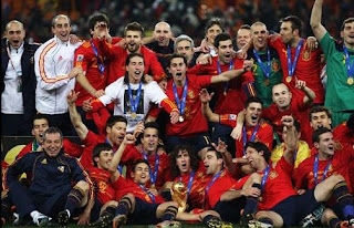 FIFA,  World Cup, South Africa,  2010, winners, champions, Spain,  team, Losers , Netherlands, Final, match,  photo.