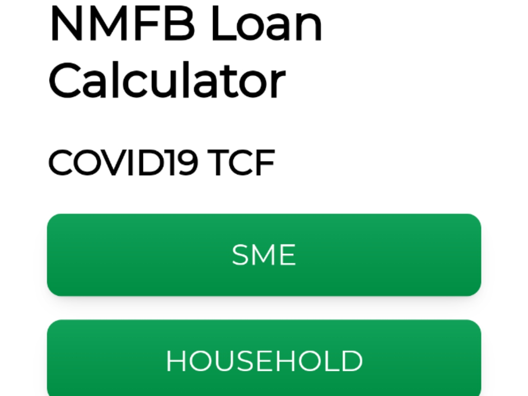 COVID19 TCF, ABP, AGSMEIS, NYIF Calculator for  SME & HOUSEHOLD