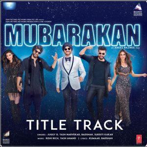 Mubarakan (Title Track)
