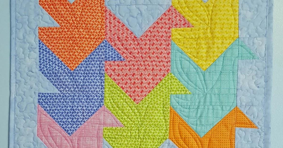 Patchwork Breeze Escher Inspires Quilt