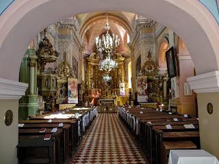 Пінськ. Костел Успіння Діви Марії