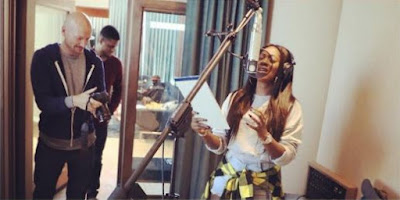 Photos Of Tiwa Savage In The Studio With StarGate, Rihanna's Producer (Photos)