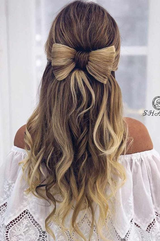 Beautiful Hairstyles For Christmas Celebration