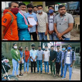 बालाघाट जिले के महाविद्यालयो में सीटें बढ़ाने अभाविप ने राज्यमंत्री श्री कावरे को सौंपा ज्ञापन