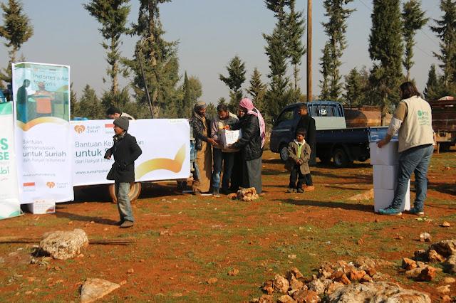 Suriah Kembali Bergejolak, Aksi Rumah Zakat Bikin Umat Islam Bangga