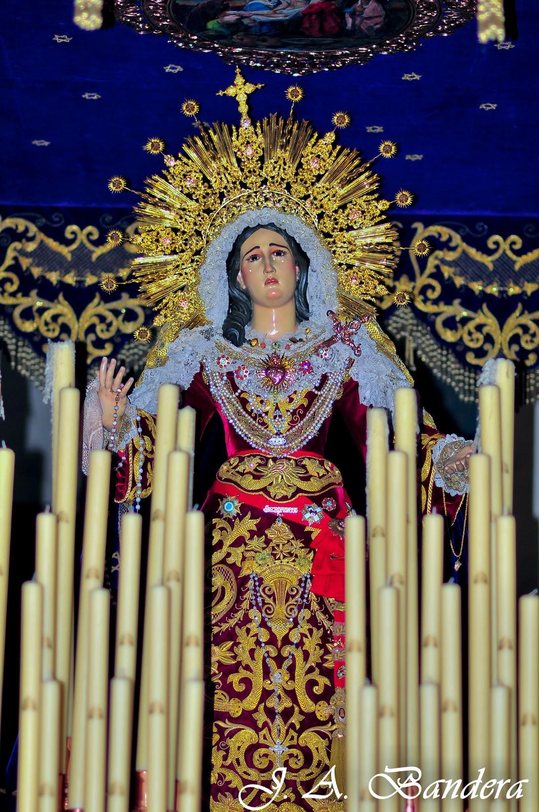 Santa Maria Honda >> Las Fotografías de Bandera: María Stma. del Sacromonte ...
