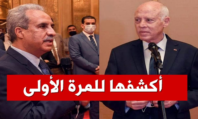 محمد كريشان قيس سعيد  محمد كريشان - mohamed krichen al jazeera - kais saied