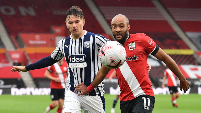 Nathan Redmond in action for saints in the premier league