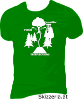 Disc Golf Shirt Treeflections treenabled treenied