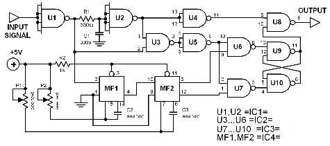 digital-bandpass-filter-circuit-diagram