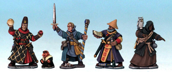 The Plastic Frostgrave Wizards Set Can Now Be Pre Ordered From North Star Military Figures