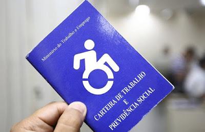 Pesquisa ilustra perfil profissional das pessoas com deficiência do estado