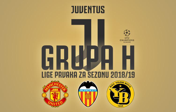 Juventus u grupi H uz Manchester United, Valenciju i Young Boys