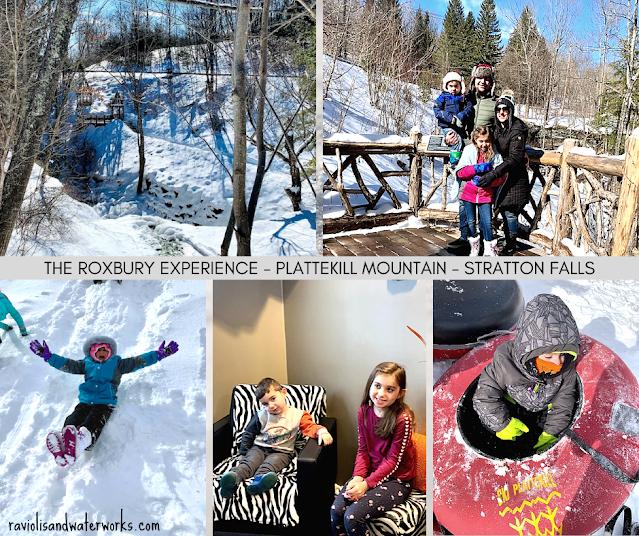 snowtubing trip upstate new york roxbury plattekill mountain