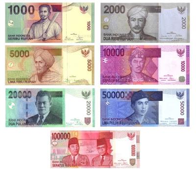uang rupiah IDR money