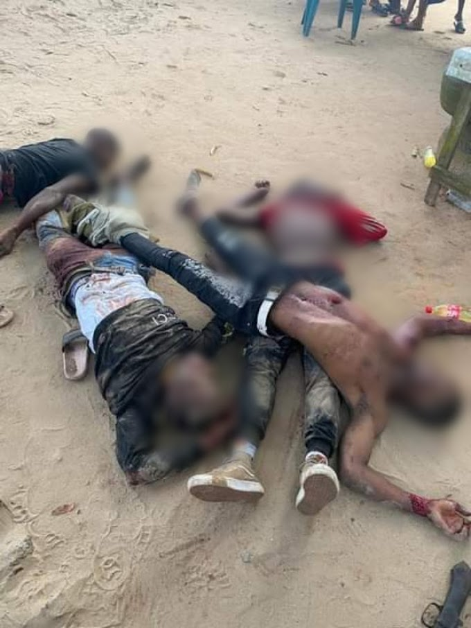 Soldiers gun down four armed robbers in Delta