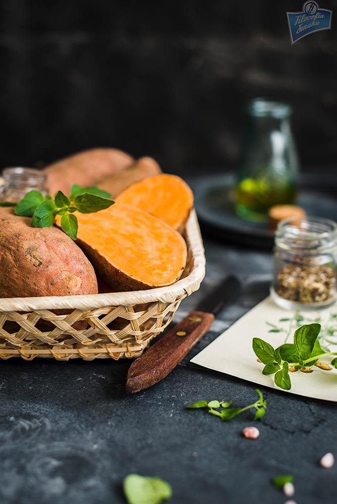 Słodkie ziemniaki przepis