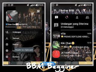 bbm mod BBM JKT48 Beginner v2.12.0.9 APK Terbaru