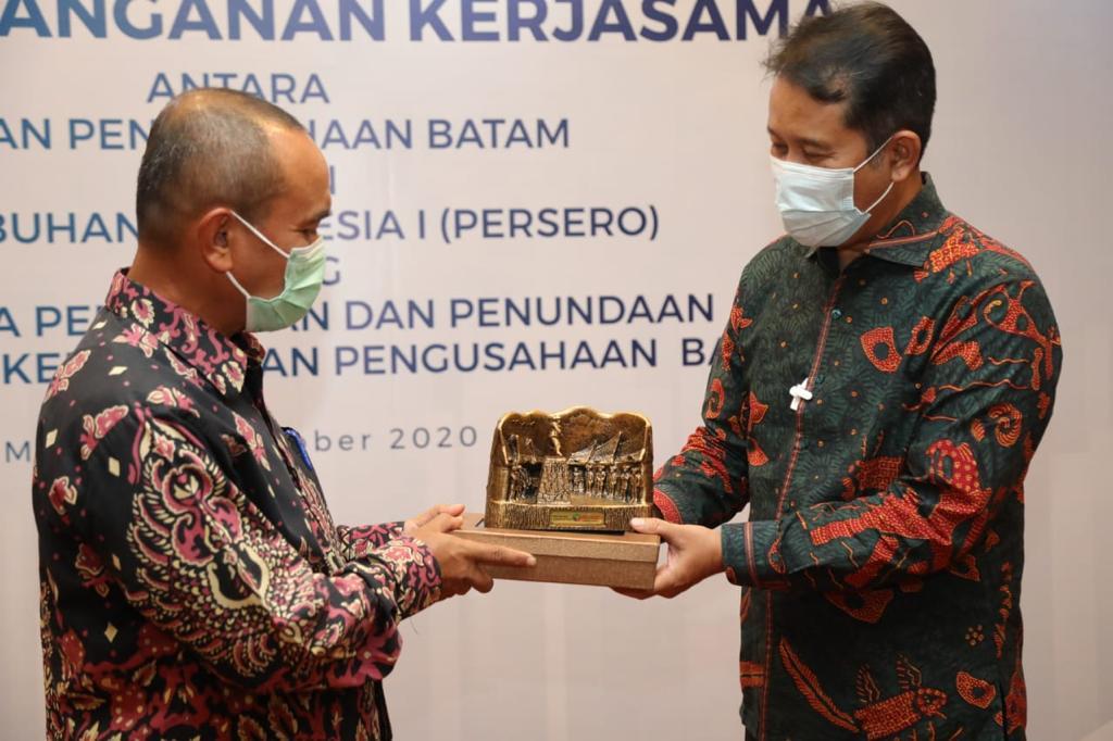 BP Batam dengan PT Pelindo I (Persero) Tandatangani Penandatanganan Perjanjian Kerja Sama