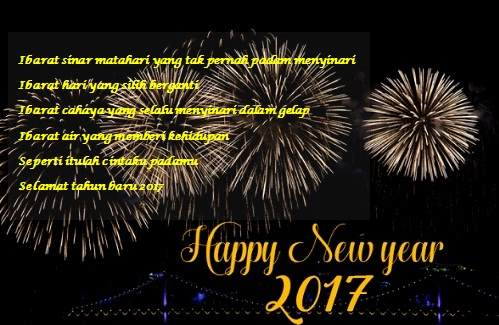 kata-kata ucapan selamat tahun baru 2017