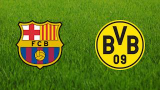 على عشب الكامب نو برشلونة يستقبل الوافد الألماني بروسيا دورتموند في قمة مباريات المجموعة السادسة في دوري أبطال أوروبا الأربعاء 27 / 11 / 2019