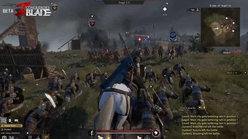 Conqueror's Blade đầy bảo đảm với sự kết hợp của cả Dynasty Warrior lẫn Total War, mang đến Khả năng chiến tranh thời trung thế kỉ thật nhất với bạn