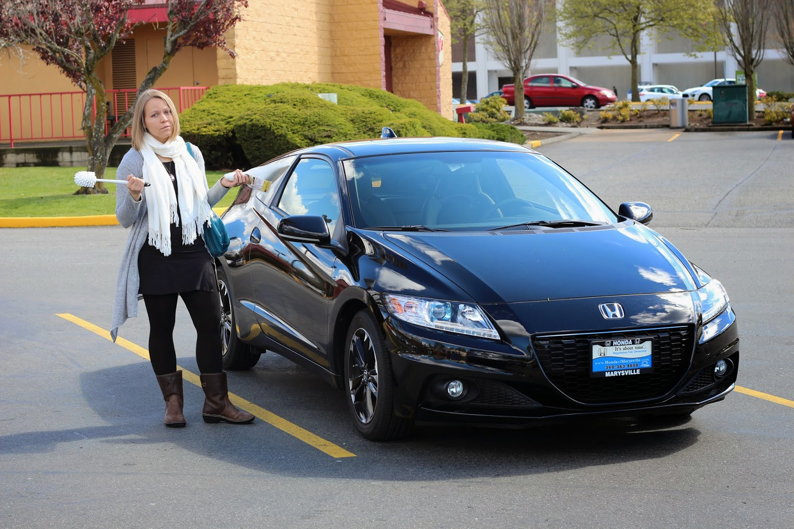 Lovely Meg W Winston The 2017 Honda Crz Ex 6sp Manual