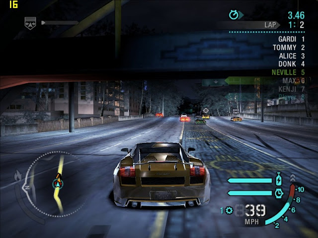 Need for Speed Carbon Free Download Photo