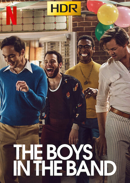 The Boys in the Band (2020) NF WEB-DL 1080p-HDR Latino