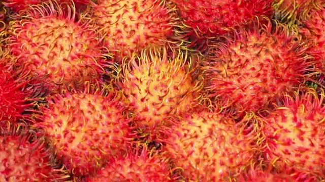 13 CRAZY FRUITS YOU'RE NEVER HEARD OF 11. Rambutan