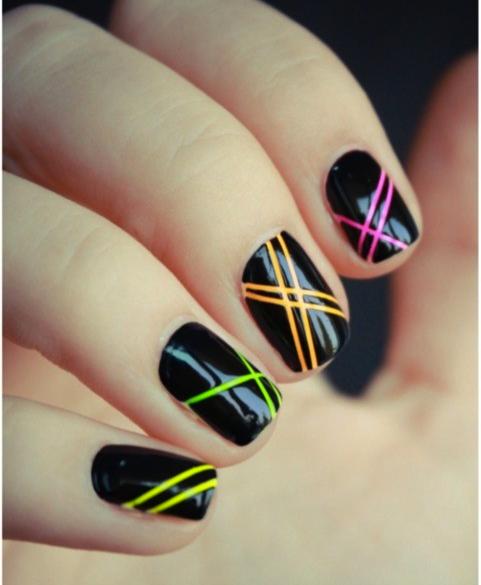 Neon Nail Designs: StyleVitale: NeOn NaiL ArT