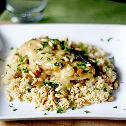 Slow-Cooker White Wine and Garlic Chicken