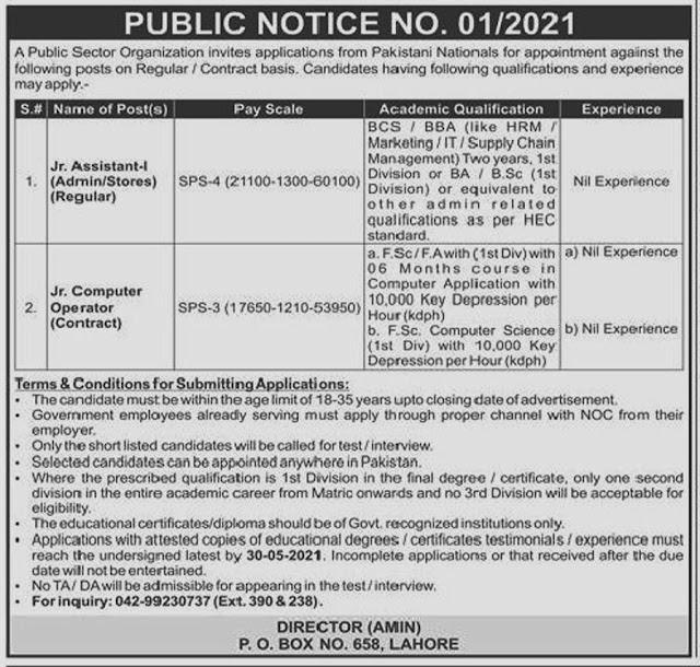 New Government Jobs in Pakistan 2021 Atomic Energy Commission -PAEC
