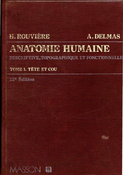 anatomie humaine rouviere