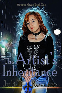 The Artist's Inheritance, Juli D. Revezzo, Urban Fantasy, Paranormal fiction, witch fiction, Antique Magic series, supernatrural fiction, paranormal fantasy