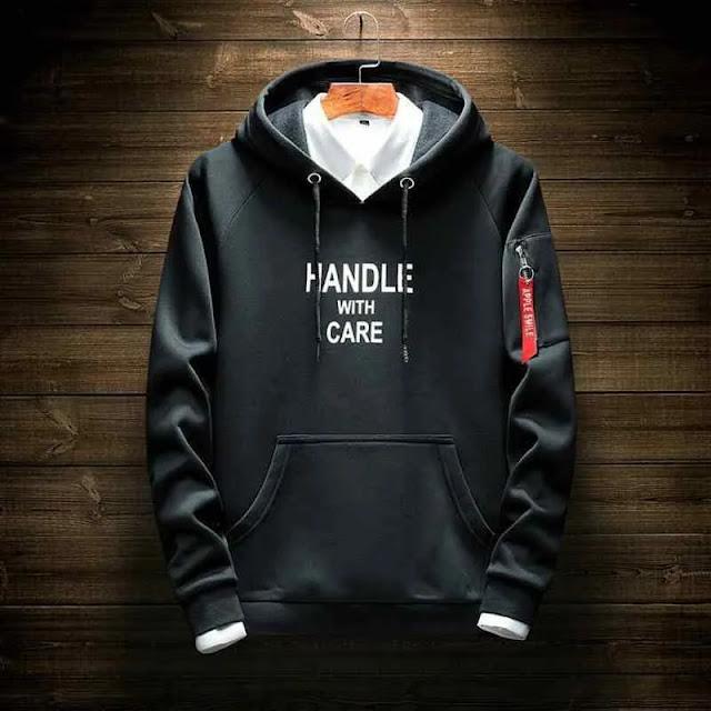 hoodie pria